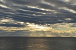 An uncharacteristically calm Strait of Magellan