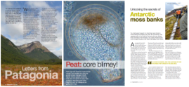 3 magazine articles in NERC's Planet Earth magazine