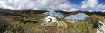 Panoramic of the Eden Project